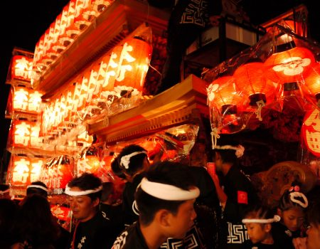 Kishiwada Danjiri Matsuri〜A group of brave and beautiful men