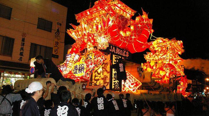 Numata Yodaka Andon(Lampstand) Festival